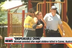 Woman arrested after eight children killed in Cairns, Australia
