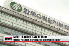 Hacker releases more information online about Korean nuclear reactors