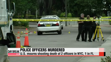 NYC mourns murder of two police officers, another cop killed in FL