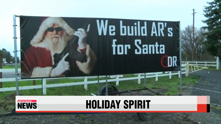 Holiday spirit sweeps across United States