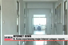 N. Korea experiencing major Internet outages