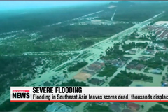 Severe flooding in Southeast Asia kills scores