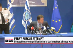 Ferry rescue operation continues
