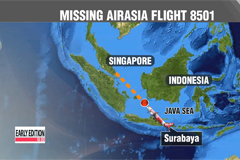 Search operations continue for missing AirAsia Flight