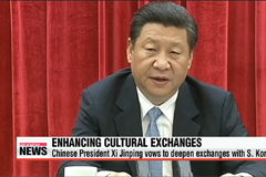 China's Xi vows to deepen tourism, cultural exchanges with S. Korea