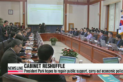 President Park expected to reshuffle Cabinet this week
