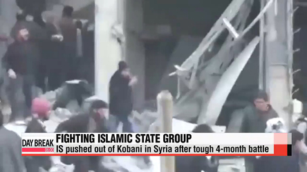 IS pushed out of Kobani after tough 4-month battle