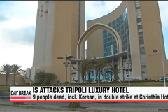 IS attack on Tripoli hotel leaves 9, incl. Korean, dead
