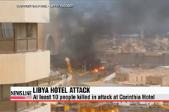 At least ten people dead in Libya hotel attack