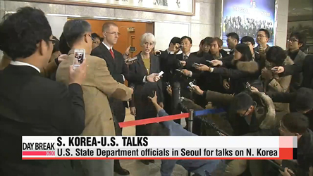 U.S. diplomats visit S. Korea for N. Korea talks