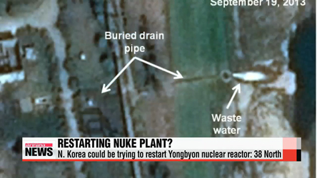 N. Korea could be trying to restart Yongbyon nuclear reactor: 38 North