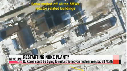 N. Korea may be restarting Yongbyon nuke reactor: U.S institute