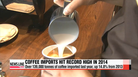 Coffee imports hit record high in 2014