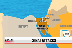 At least 26 killed in simultaneous assaults in North Sinai