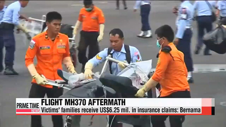 Insurance firms paid over US$6 mil. to MH370 victims' families: Bernama