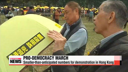 Pro-democracy protesters return to streets of Hong Kong