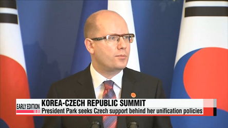 Korea, Czech Republic elevate ties to strategic partnership