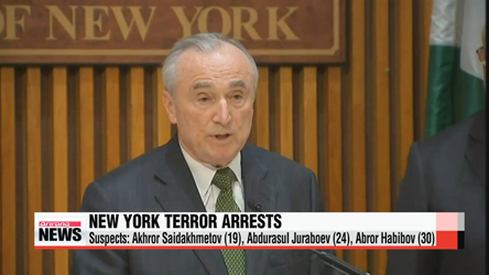 Three men in NYC charged with supporting Islamic State