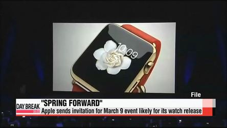 'Spring forward': Apple sends invitation for March 9 event, likely for its watch release