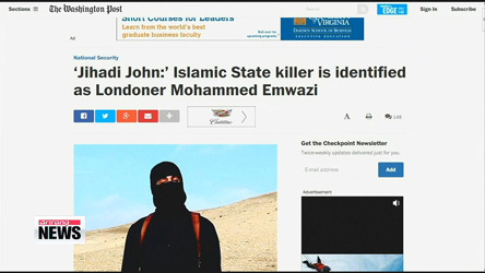 Islamic State killer 'Jihadi John' identified as Mohammed Emwazi from London