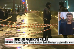 Leading Russian politician Boris Nemtsov shot dead in Moscow