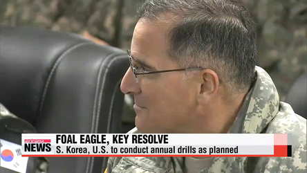 S. Korea, U.S. to begin annual joint military drills