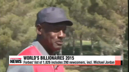 Michael Jordan joins Forbes' 2015 billionaires list