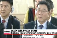 Two Koreas clash over Pyongyang's human rights issues in Geneva