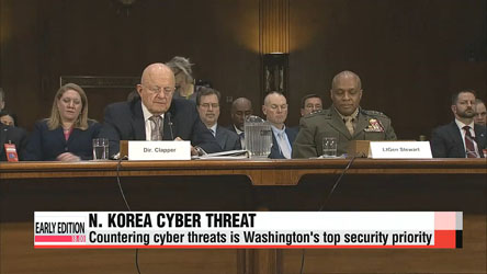 N. Korea solely responsible for Sony Pictures hack: U.S. intelligence chief