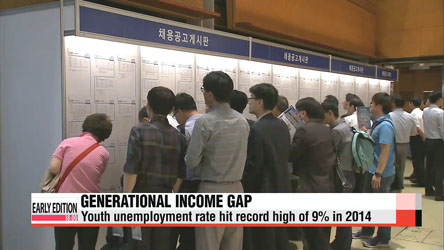Youth unemployment raises household debt in young generation