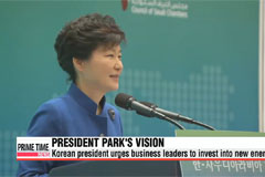 President Park lays out vision for future of Korea-Saudi cooperation