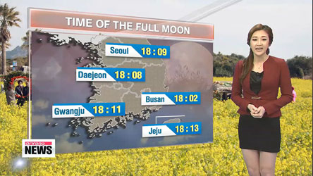 Clear skies for the first full moon of lunar year