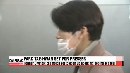Park Tae-hwan to finally speak