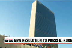 U.N. adopts new North Korean human rights resolution