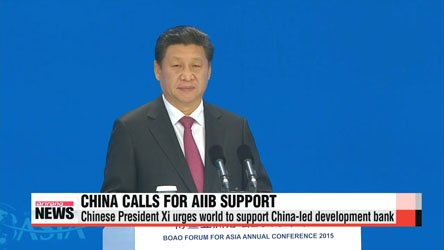 Chinese President Xi Jinping calls for development bank support