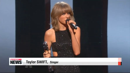 Singer Taylor Swift wins big at iHeart Radio Awards