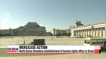 N. Korea warns of merciless action if S. Korea opens human rights office