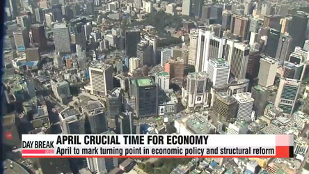 April to mark a watershed for Korean economy
