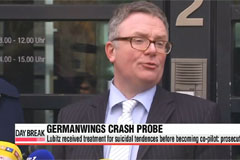 Germanwings crash: prosecutors confirm co-pilot's suicidal past