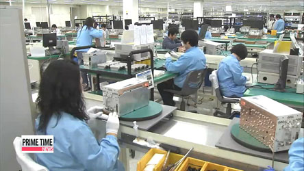 Korea's industrial ouput grows at fastest pace in almost 4 years