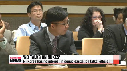 N. Korea not interested in holding denuclearization talks: official
