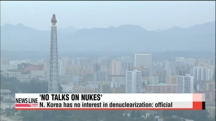N. Korea has no interest in denuclearization: official