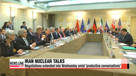 Iran nuclear talks extended by another day