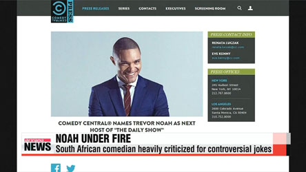 Next 'Daily Show' host under fire for controverisal jokes