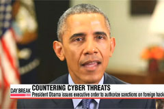 President Obama permits authorities to sanction foreign hackers
