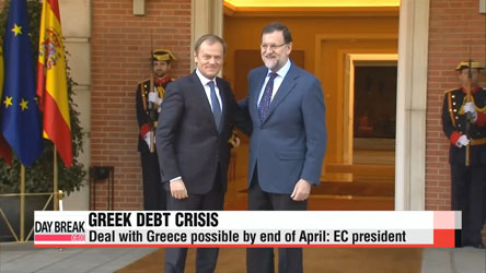 Deal with Greece possible by end of April: EC president