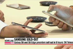 Pre-orders for Samsung's Galaxy S6 sell out in 9 hours