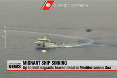 Up to 650 feared dead after migrant boat sinks off Libya