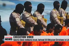 Islamic State militants shoot, behead 30 Ethiopian Christians in Libya