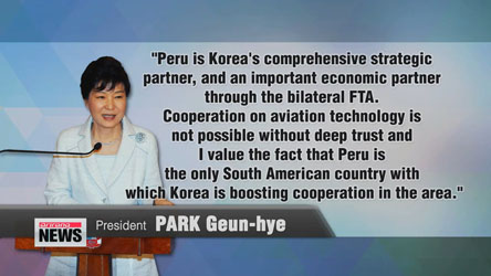 Leaders of Korea, Peru discuss expanding cooperation beyond trade